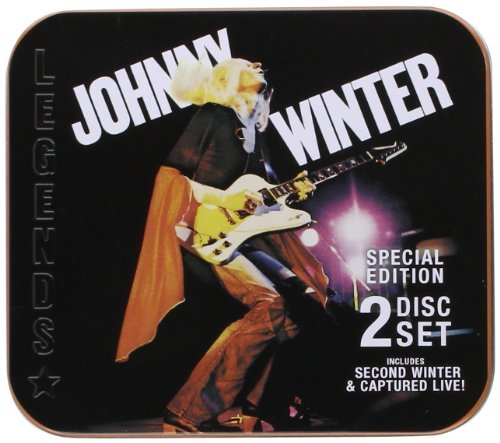 Johnny Winter Second Winter Captured Live 2 CD