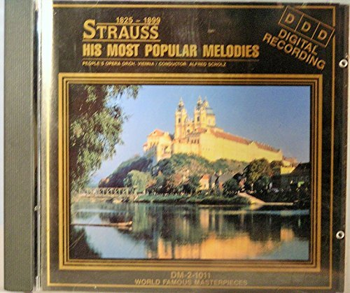 J. Strauss His Most Popular Melodies