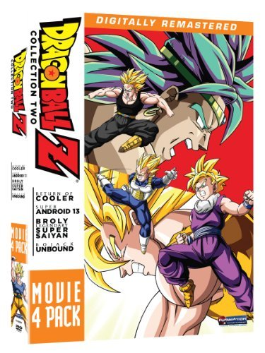 Movie Pack 2 Movies 6 9 Dragon Ball Z Ws Tvpg 4 DVD