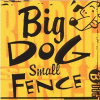 Big Dog Small Fence Big Dog Small Fence