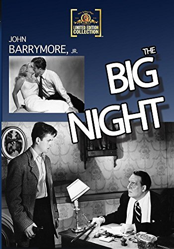 Big Night (1951) Barrymore Lorring Foster Made On Demand Nr