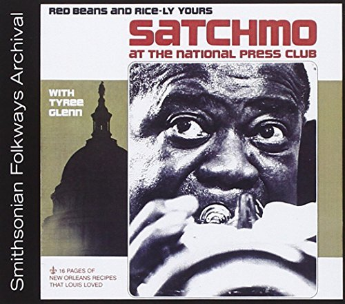 Louis & Tyree Glenn Armstrong Satchmo At The National Press CD R