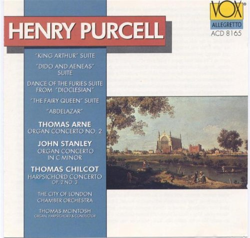 H. Purcell King Arthur Ste Dido & Aeneas Mcintosh*thomas (org Hrpchrd) Mcintosh London Chbr Orch