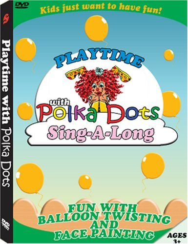 Playtime With Polka Dots Clown Playtime With Polka Dots Clown Clr Nr