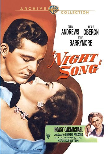 Night Song (1947) Andrews Oberon Barrymore Bw DVD R Nr