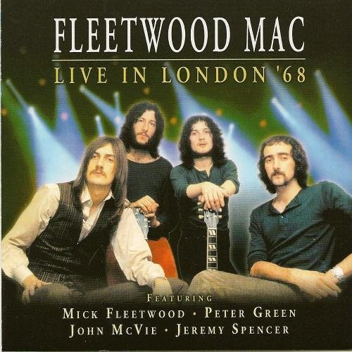Fleetwood Mac Live In London 1968 Import Gbr