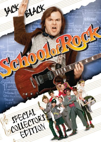 School Of Rock Black Cusack DVD Pg13 Ws