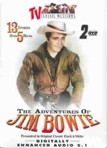 Adventures Of Jim Bowie Vol. 1 2 Bw Nr 2 DVD