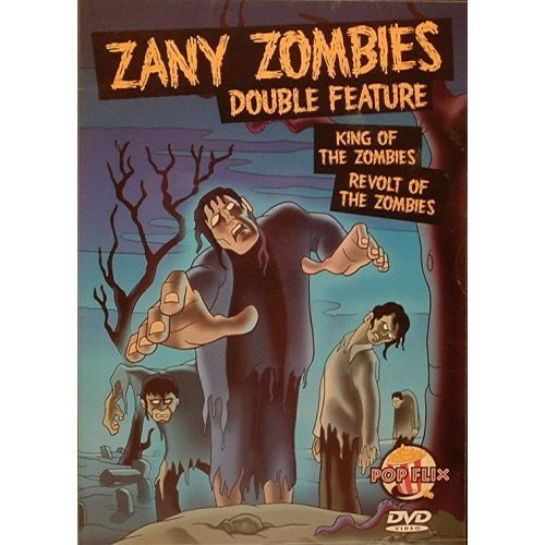 Victor Halperin Jean Yarbrough Zany Zombies Double Feature Revolt Of The Zombies
