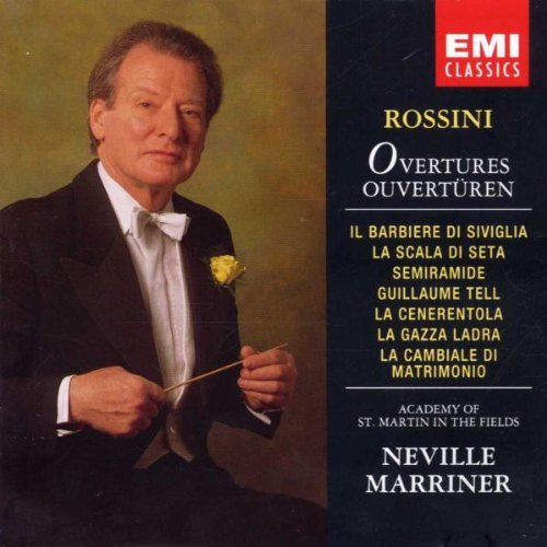G. Rossini Overtures Marriner Neville