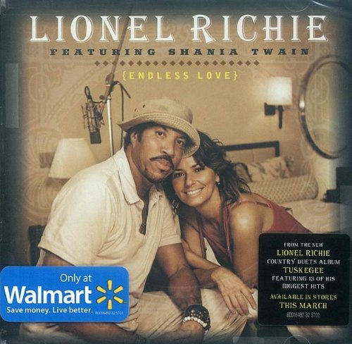 Lionel Richie Featuring Shania Twain Endless Love (2 Song CD Single)