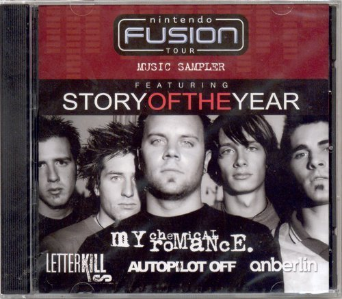 Story Of The Year My Chemical Romance Letter Kills Nintendo Fusion Tour Music Sampler Story Of The Y