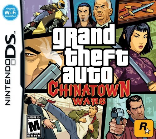 Nintendo Ds Grand Theft Auto Chinatown Wars