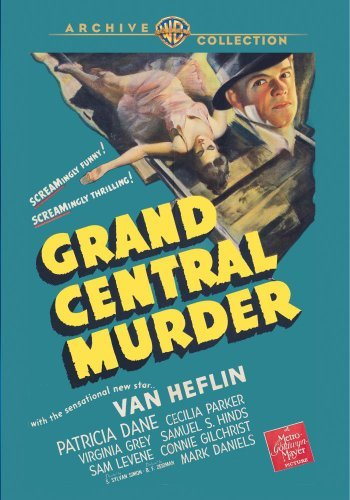 Grand Central Murder (1942) Heflin Dane Parker DVD R Bw Nr