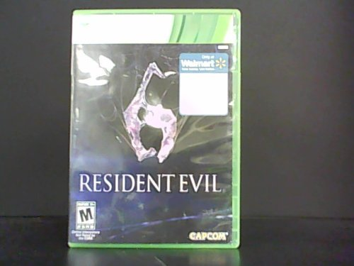 Xbox 360 Resident Evil 6 Wal Mart Exclusive