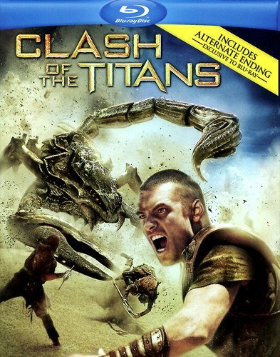 Clash Of The Titans (2010) Worthington Arterton Mikkelsen Blu Ray Ws R Incl. Movie Money