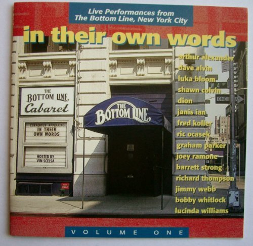 In Their Own Words Vol. 1 In Their Own Words Alvin Ian Thompson Bloom Dion Parker Williams Colvin Webb