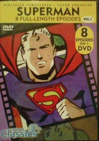 Superman Cartoon Classics Superman Cartoon Classics