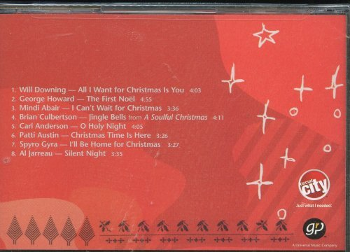 Al Jarreau Will Downing George Howard Mindi Abair Smooth Sounds Of The Season Volume 1