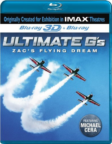 Ultimate G's Zac's Flying Dre Imax Ws Blu Ray 3d Nr
