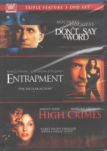 Don't Say A Word Entraptment High Crimes Triple Feature