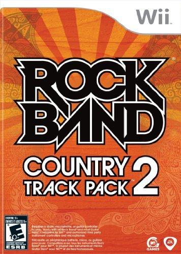 Wii Rock Band Country Track Vol. 2