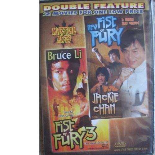 "New Fist Of Fury Fist Of Fury 3 Double Feature The Bruce & Jackie Action Pack""new Fist Of Fury+fi"