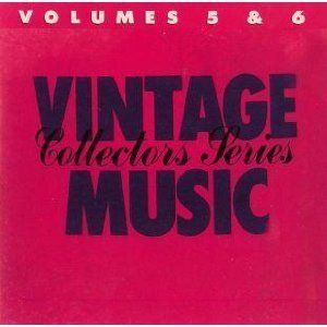 Various Vintage Music Collectors Series Volumes 5 & 6