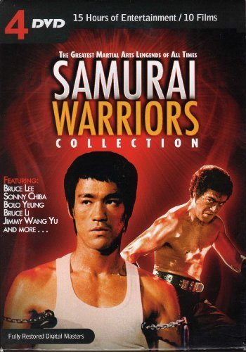 Samurai Warriors Collection The Greatest Martial Arts Legends Of All Times Sam