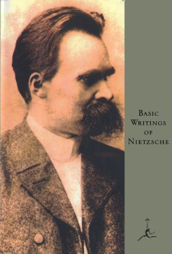 Friedrich Nietzsche Basic Writings Of Nietzsche