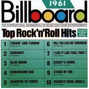 Billboard Top Rock N Roll H 1961 Billboard Top Rock N Roll Lewis Shannon Vee Dion Billboard Top Rock N Roll Hits