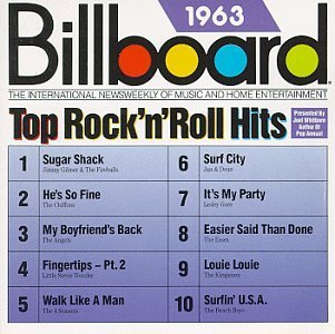 Billboard Top Rock N Roll H 1963 Billboard Top Rock N Roll Jan & Dean Kingsmen Beach Boys Billboard Top Rock N Roll Hits