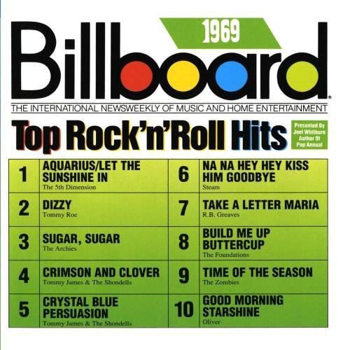 Billboard Top Rock N Roll H 1969 Billboard Top Rock N Roll CD R Billboard Top Rock N Roll Hits