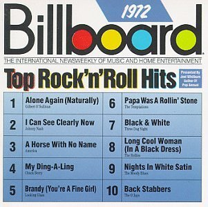 Billboard Top Rock N Roll H 1972 Billboard Top Rock N Roll America Moody Blues Hollies Billboard Top Rock N Roll Hits