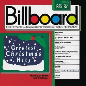 Billboard Greatest Xmas Hit 1935 54 Crosby Autry Cole Boyd Kitt Billboard Greatest Xmas Hits