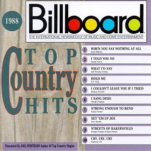 Billboard Top Country Hits 1988 Billboard Top Country Hit Crowell Gosdin Yoakam Whitley Billboard Top Country Hits
