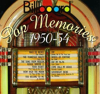 Billboard Pop Memories 1950 54 Billboard Pop Memories Bennett Page Stafford Clooney Billboard Pop Memories