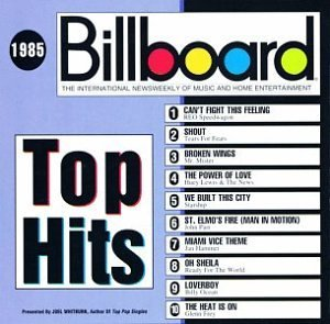 Billboard Top Hits 1985 Billboard Top Hits Ocean Tears For Fears Starship Billboard Top Hits