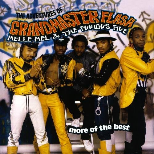 Grandmaster Flash Furious Five Adventures Of More Of The Bes CD R