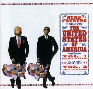 Stan Freberg Vol. 1 2 Presents The U.S. Of 2 CD Set
