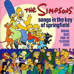 Simpsons Songs In The Key Of Springfiel Bennet Puente Blisterpack