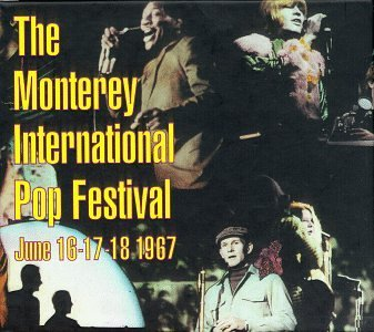 Monterey International Pop 30th Anniversary Box Set Miller Byrds Who Hendrix 4 CD Set