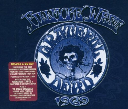 Grateful Dead Fillmore West 1969 3 CD
