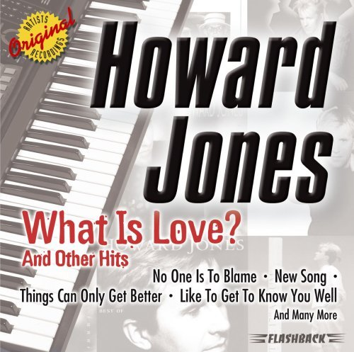 Howard Jones What Is Love? & Other Hits CD R