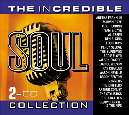 Incredible Soul Collection Incredible Soul Collection Gaye Franklin Four Tops Bass 2 CD Set