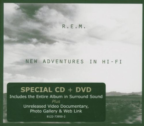 R.E.M. New Adventures In Hi Fi Incl. Bonus DVD Digipak
