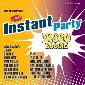 Instant Party Disco Boogie Hot Chocolate Chic Spinners Instant Party