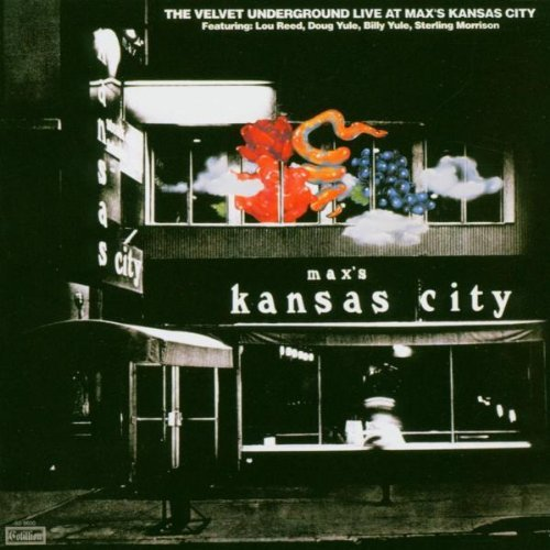 Velvet Underground Live At Max's Kansas City 2 CD Set