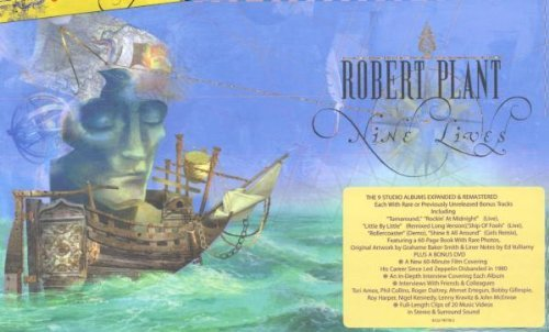 Robert Plant Nine Lives 9 CD Incl. Bonus DVD