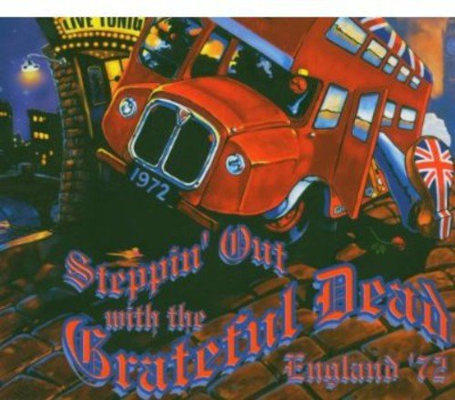 Grateful Dead Steppin' Out With The Grateful 4 CD Set